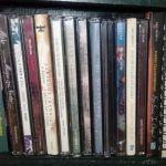 θήκη cd μαζί με 110 cd