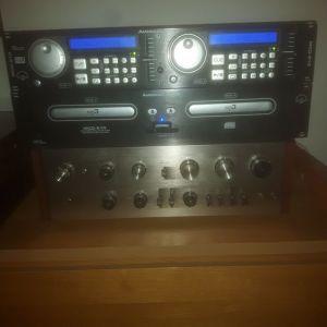 Διπλό CD Player American Audio MCD 510