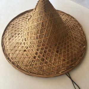 Ψάθινο διακοσμητικό καπέλο