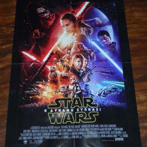 """ΣΥΛΛΕΚΤΙΚΗ παλιά ΑΦΙΣΑ μεγάλη: STAR WARS """"Η Δύναμη Ξυπνάει"""" (The Force Awakens)!!"""