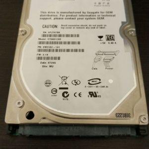 Σκληρός Δίσκος 2.5 Seagate Momentus ST96812AS 60GB