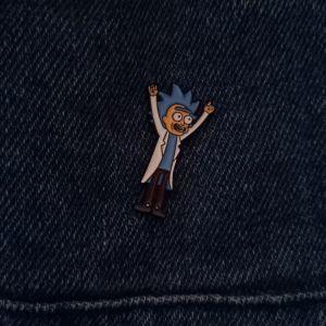 Καρφίτσα Rick and Morty