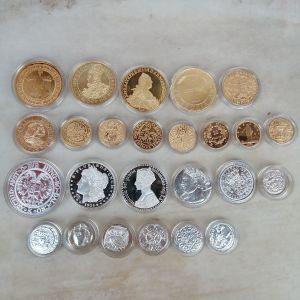 συλλεκτική έκδοση νομισμάτων 2500 χρόνων (ΑΝΤΙΓΡΑΦΑ)