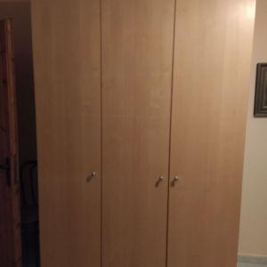 Ανοιγόμενη ντουλάπα 3 φυλλη
