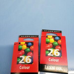 LEXMARK 26 BLK + CLR ORIGINAL