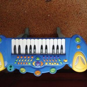 Παιδικό πιάνο με πλήκτρα μουσικής