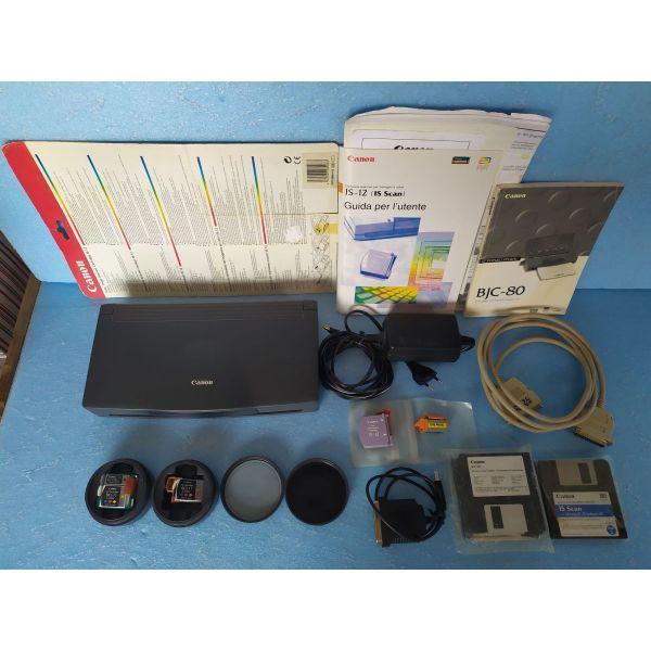 foritos egchromos color bubble jet printer/scanner.ektipotis/sarotis, CANON BJC-80 MADE IN JAPAN.
