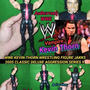 WWE KEVIN THORN WRESTLING FIGURE JAKKS PACIFIC  2005 CLASSIC DELUXE AGGRESSION SERIES 9 Αυθεντική Φιγούρα Παλαιστή