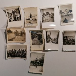 ΦΩΤΟΓΡΑΦΙΕΣ ΑΠΟ ΤΗ ΓΡΑΜΜΗ ΤΟΥ ΜΕΤΩΠΟΥ (Αύγουστος 1949) - 10 φωτογραφίες