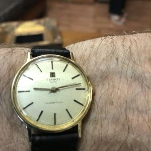 TISSOT 18k gold vintage 1960-70s