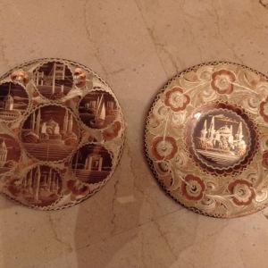πιατακια τοίχου από την Κωνσταντινούπολη