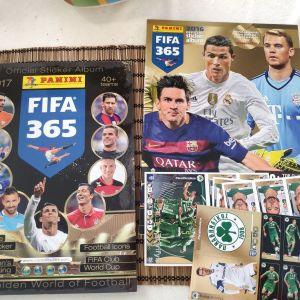 PANINI FIFA 365 2016 ΑΛΜΠΟΥΜ+ΣΕΤ+ΟΜΑΔΑ ΠΑΝΑΘΗΝΑΪΚΟΥ