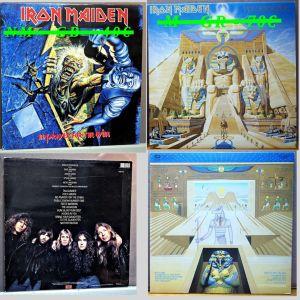 Δίσκοι βινυλίου συλλογή, Iron Maiden