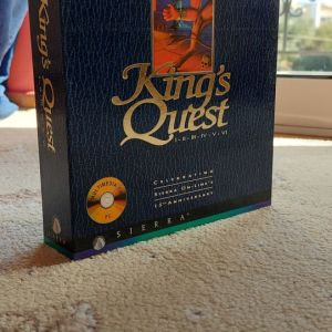 King's Quest 15th Anniversary Collector's edition