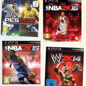 PS3 πακέτο 4 Sports παιχνίδια - 25 Euro - άριστη κατάσταση