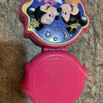 Polly Pocket Disney Minnie & Mickey Mouse Playcase Compact 1995 Vintage