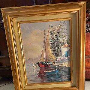 Πίνακας Έλληνα Ζωγράφου