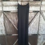 Μαύρο πολύ ελαστικό φόρεμα