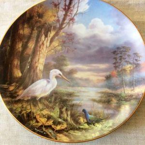 Διακοσμητικο Πιατο. Tranquil Beauty Porcelain Danbury.