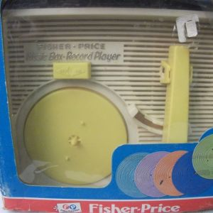 MUSIC BOX RECORD PLAYER FISHER-PRICE ΔΕΚΑΕΤΙΑΣ 1980
