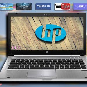 HP Elitebook 8470p i7-3520M / 8 GB RAM / hd ssd 256 / CAMERA / Οθόνη 14.1