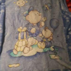 Βρεφική κουβέρτα veloute  110Χ140 και δώρο σετ σεντόνια για την κούνια του μωρού σας