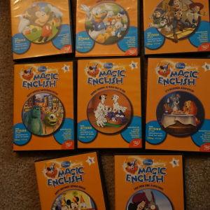 8 dvd εκμαθησης αγγλικων για παιδια