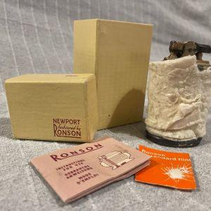 Αναπτήρας συλλετικός Newport by Ronson Made in England.