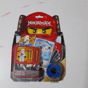 φιγούρα Ninjaman τύπου lego