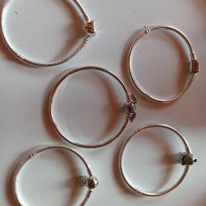 Pandora 925 silver βραχιόλια