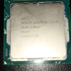 Intel Xeom E3 1231V3 1150 socket