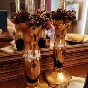 Ιταλικα κρυσταλλα με επιχρυσωση 24 καρατιων