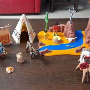 Playmobil ινδιανοι