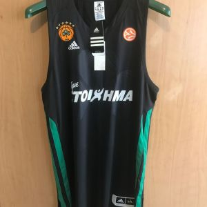 ΕΜΦΑΝΙΣΗ ΜΠΑΣΚΕΤ ΠΑΝΑΘΗΝΑΪΚΟΣ 2011-2012 Adidas Third Kit (2)
