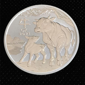 Year of the ox 1 oz silver 2021