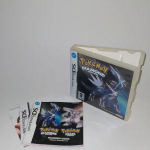 Pokemon Diamond Box&Manuals DS EU Version