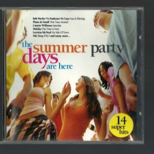 CD - THE SUMMER PARTY DAYS ARE HERE