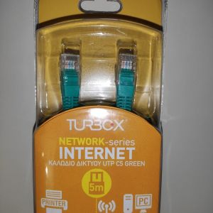 Turbo-X Καλώδιο Δικτύου Patch UTP C5 (5m)