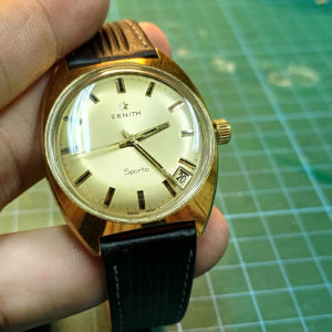 Zenith sporto κουρδιστό ανδρικό ρολόι