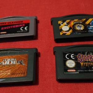 Game Boy Adv Games 5. euro Each