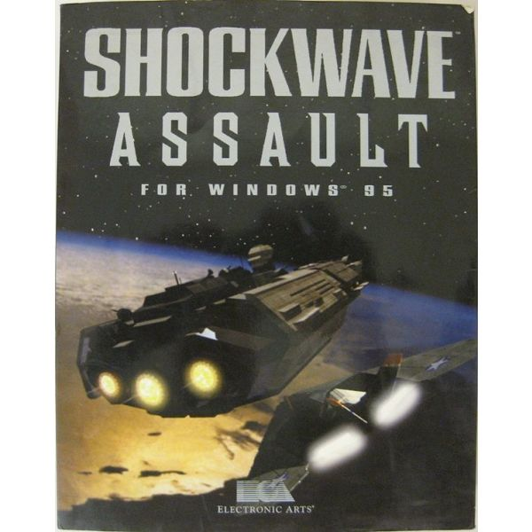 SHOCKWAVE ASSAULT - WINDOWS 95