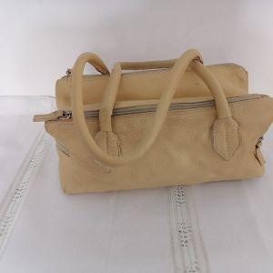 Δερμάτινη,καλοκαιρινή τσάντα
