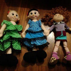 3 κούκλες από Ισπανία