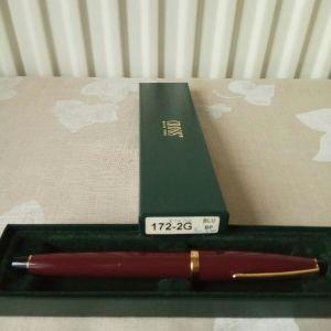 CROSS USA Rollerball Bordeaux & Gold plated pen 172-2G. Δεν έχει χρησιμοποιηθεί ποτέ. Από την προσωπική μου συλλογή.