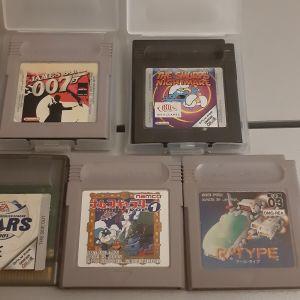 5 Κασέτες Nintendo Gameboy