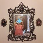 Κονσόλα με καθρέφτη και κρεμάστρα