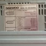 DAEWOO-ΡΑΔΙΟ-CD,ΑΥΤΟΚΙΝΗΤΟΥ