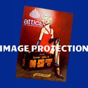 Αγγελιες Ευαγγελια Αραβανη Μεριλιν Μονροε Marilyn Monroe πολυκαταστημα Αττικα Attica διαφημιση διαφημιστικος καταλογος 2013 2014 περιοδικο βιβλιο