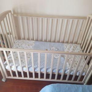 βρεφικό-παιδικο κρεββατι