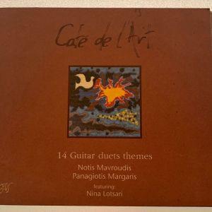 Cafe de l'art - Νότις Μαυρουδής, Παναγιώτης Μάργαρης, Νίνα Λοτσάρη cd